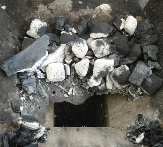 Kohle im Schacht